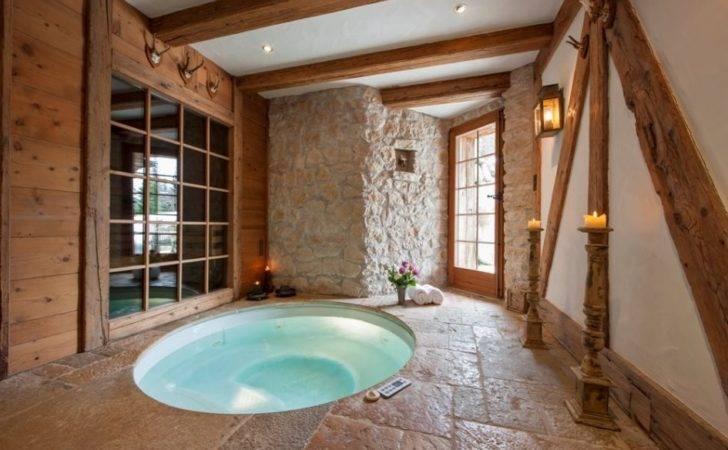 Indoor Hot Tub House Ideas Pinterest