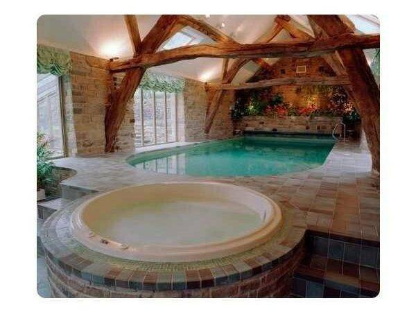 Indoor Hot Tub Room Designs Jets Include Accessories Round Portable