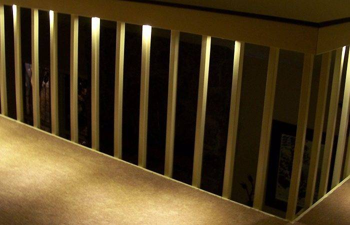 Indoor Led Recessed Stair Light Kit Dekor Lighting