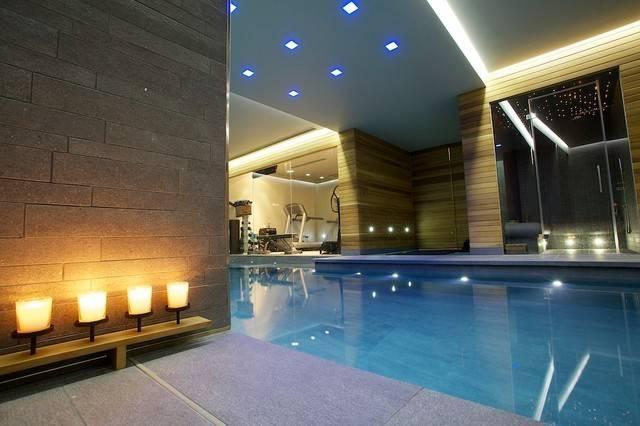 Indoor Luxury Swimming Pool Surrey Modern South East