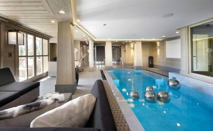 Indoor Luxury Swimming Pools Pool House Designs Backyard
