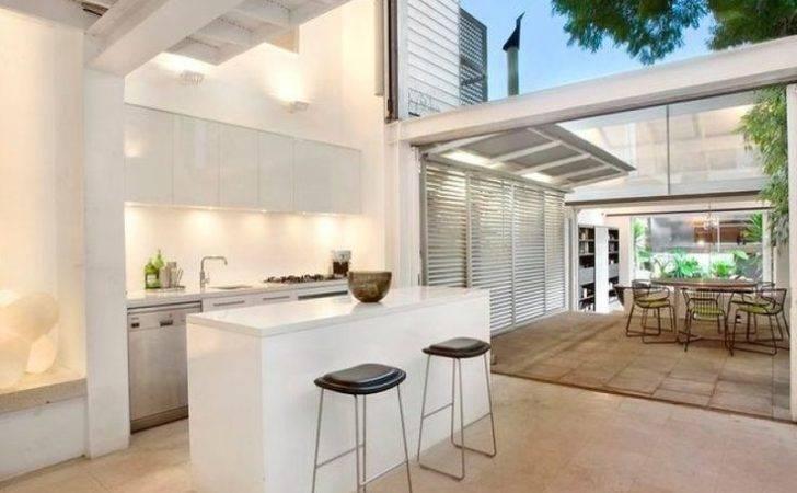 Indoor Outdoor Kitchen Home Ideas Pinterest
