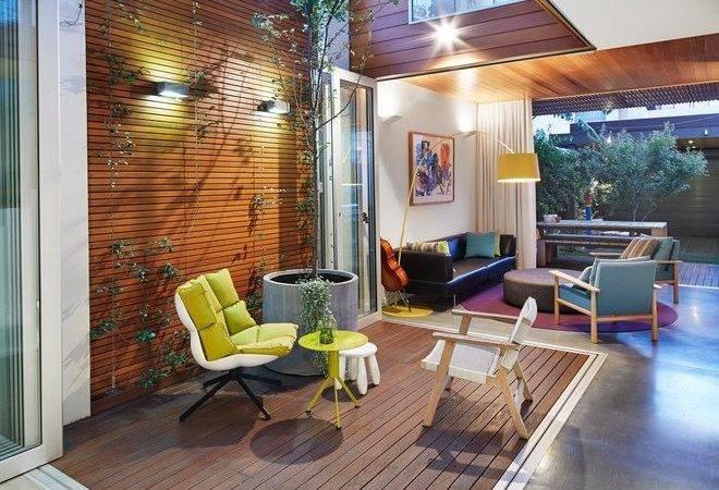 Indoor Outdoor Rooms Sunroom Rustic Wicker Couch