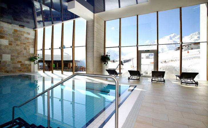 Indoor Pool Our Hotel Spa Solden Tyrol