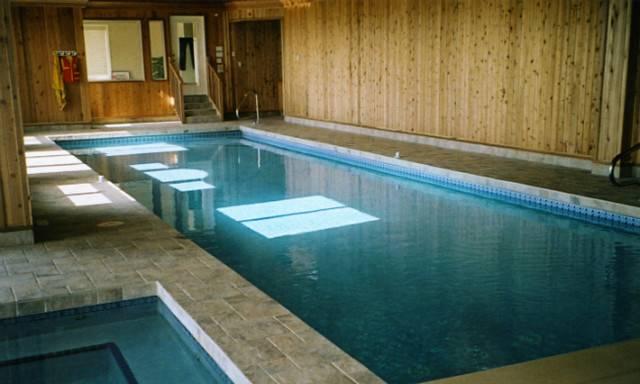 Indoor Pool Spa Contemporary