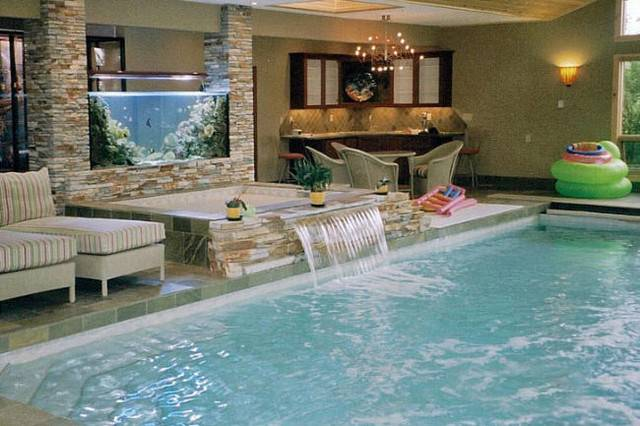 Indoor Pool Spa Tropical