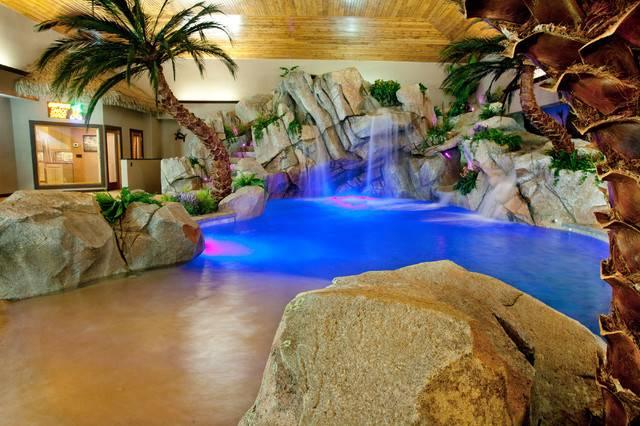 Indoor Residence Tropical Pool Cincinnati Shehan Pools