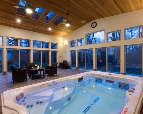 Indoor Spa Home Design Ideas Remodel Decor