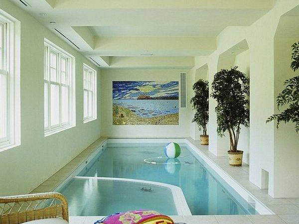 Indoor Spa Pool Create More Soothing Setting