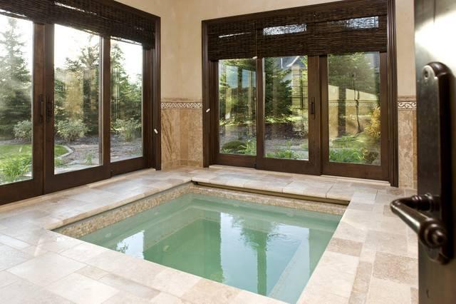 Indoor Spa Traditional Pool Minneapolis John Kraemer Sons