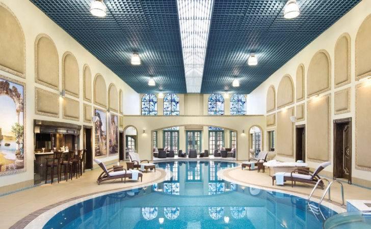 Indoor Swimming Pool New Luxury Home Essential