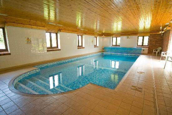 Indoor Swimming Pool Wheel Farm Cottages Combe Martin