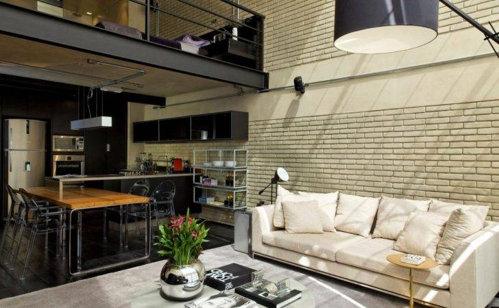 Industrial Chic Loft Features Ideal Match Between Comfort