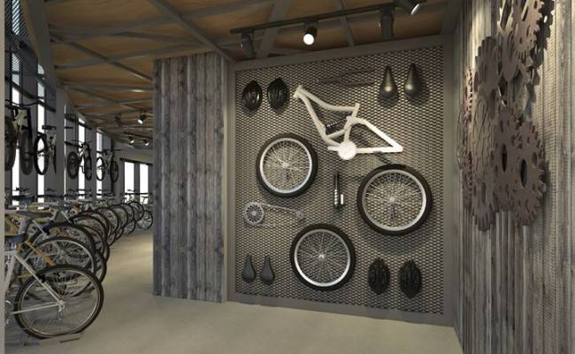 Industrial Concept Bike Shop