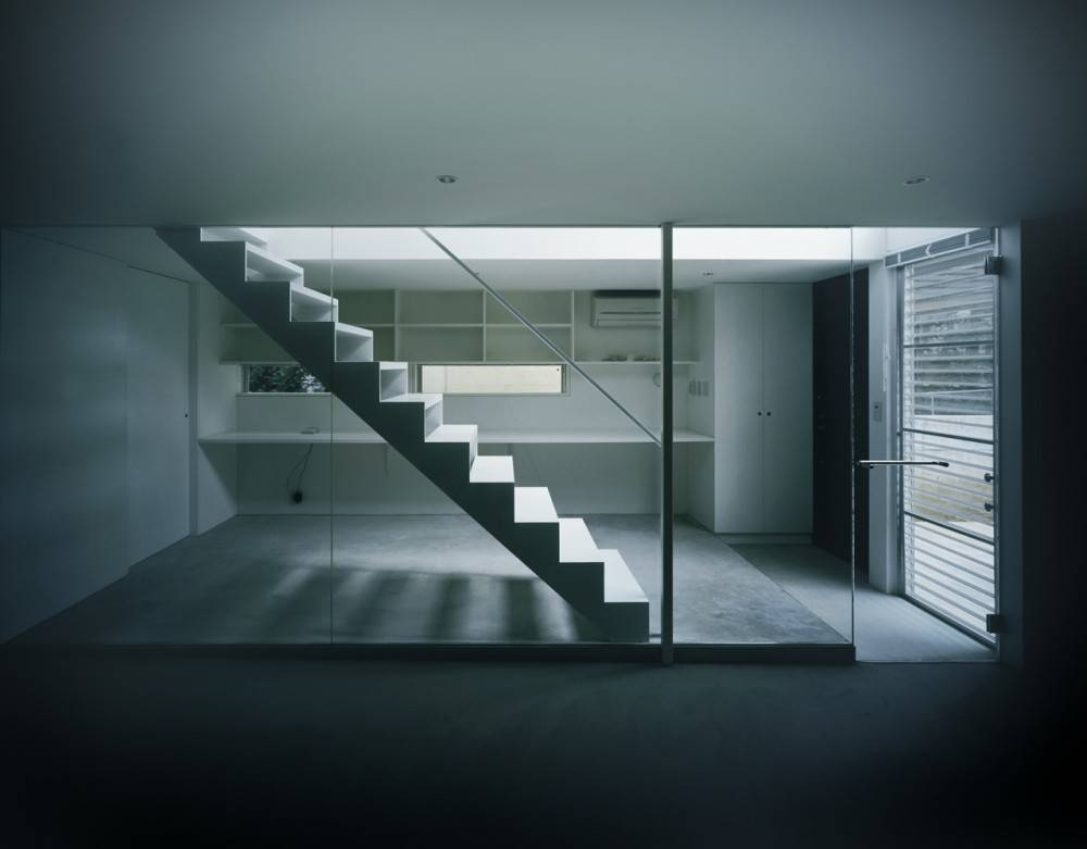 Industrial Design Minimalist House Tokyo Japan Plans Most