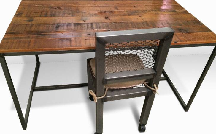 Industrial Furniture Desk Modern Metal Chair Office