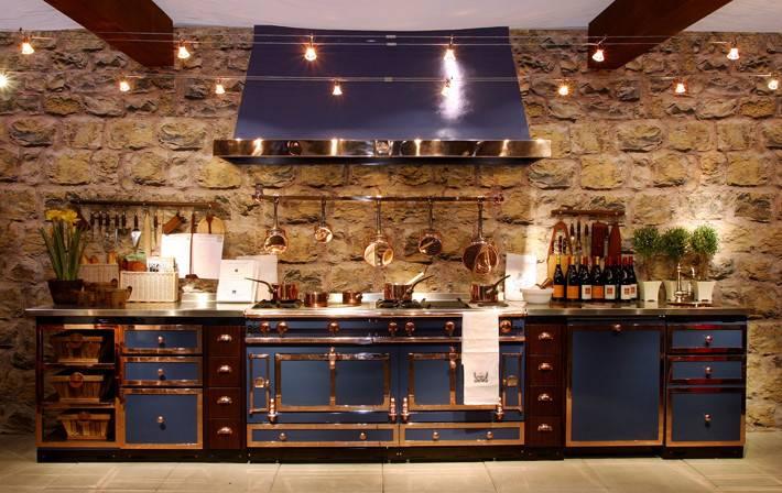 Industrial Kitchen Cornue