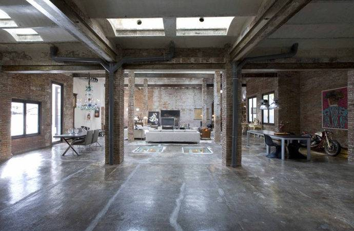 Industrial Loft Old Printing Press Minim Barcelona