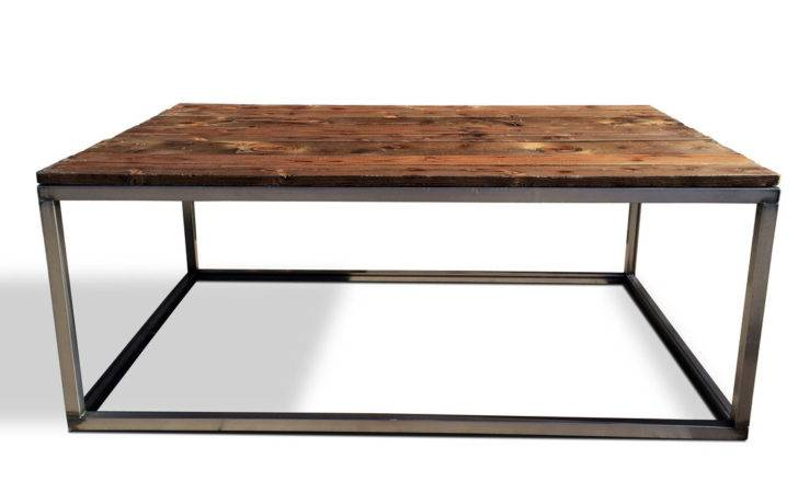 Industrial Modern Coffee Cocktail Table Set Furniture