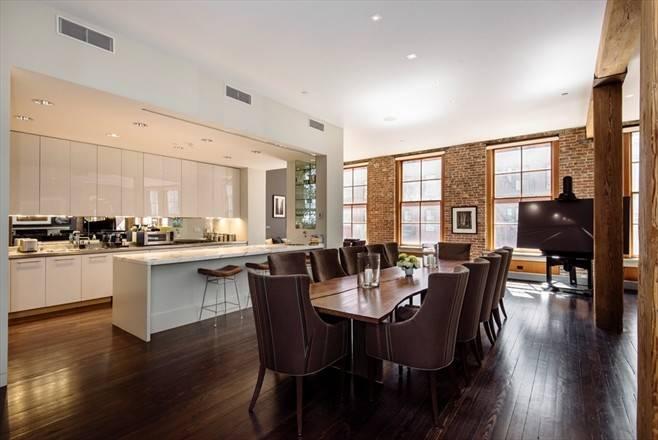 Industrial Modern Kitchen Manhattan Soho New York Loft Condo Facebook
