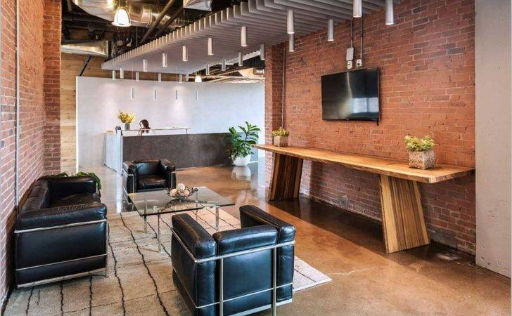 Industrial Modern Sustainable Interiors Dream Office Space Interior