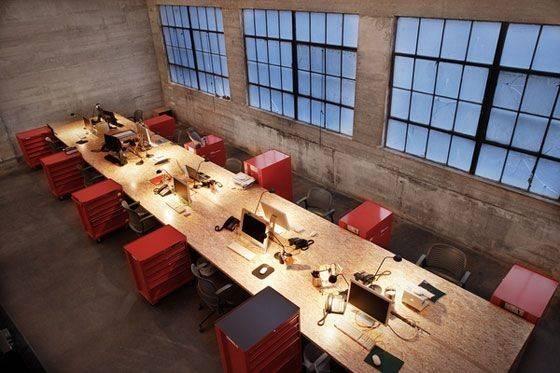 Industrial Office Burnkit More Toolbox Design Workspace
