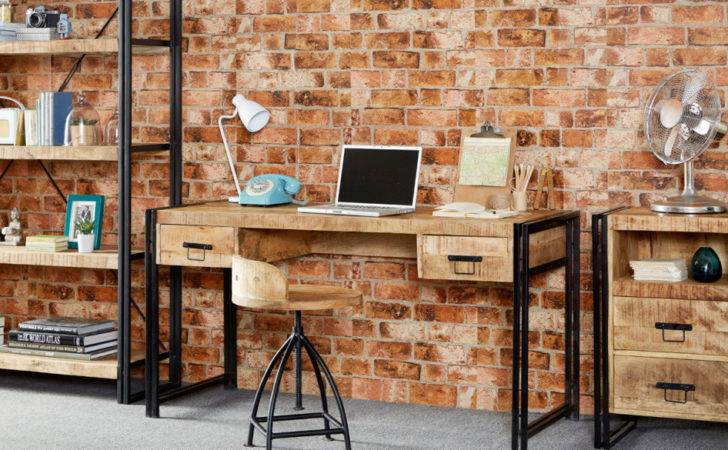 Industrial Office Computer Desks Rustic Furniture