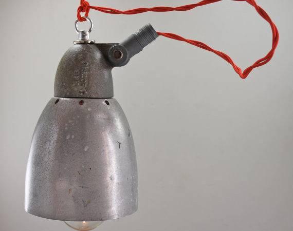 Industrial Pendant Light Repurposed Shop Garage Hanging Lighting