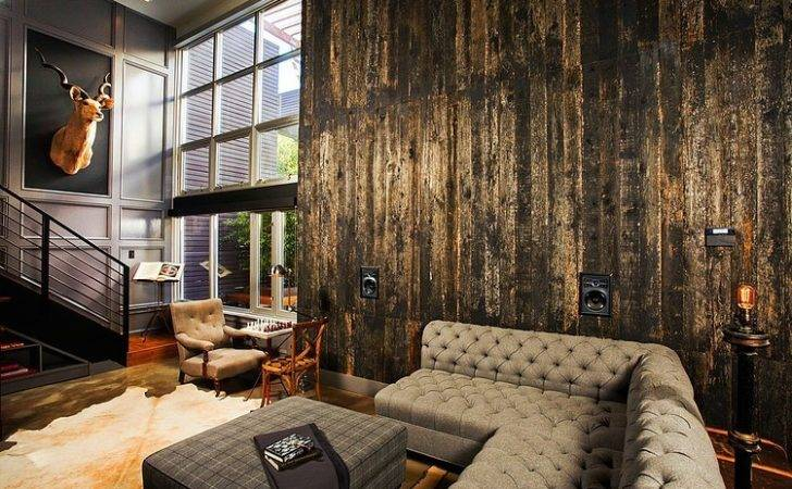 Industrial Retro Interior Design Homeadore