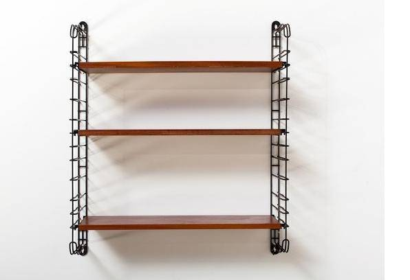 Industrial Wall Shelving Systems Storage Units Minimalist