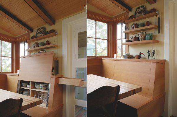 Ingenious Hideaway Storage Ideas Small Spaces