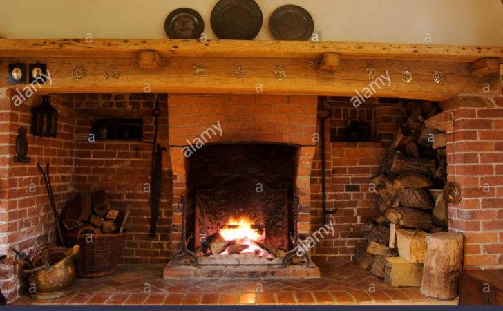 Inglenook Fireplace Alamy