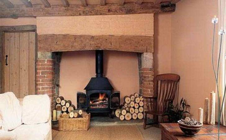 Inglenook Fireplace Design Ideas Corner