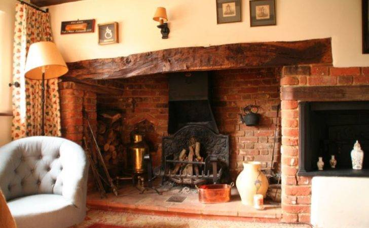 Inglenook Fireplace Pinterest Border Oak Log Burner Wood
