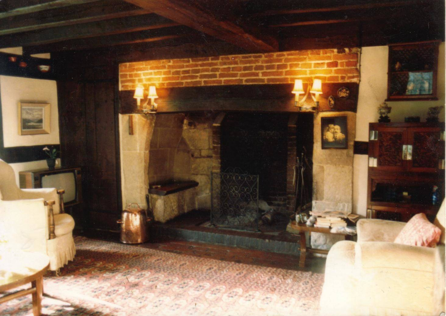 Inglenook Fireplace Sitting Room