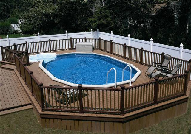 Inground Pool Designs Pools Above Ground Landscaping