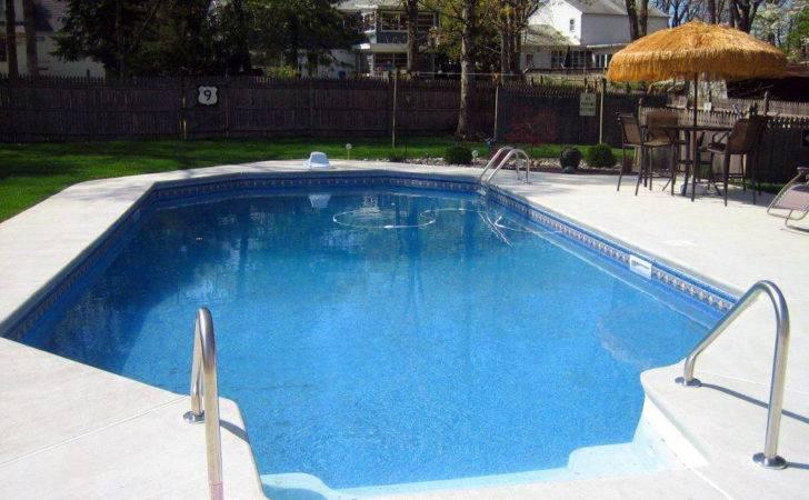 Inground Pools Shapes Sizes Models