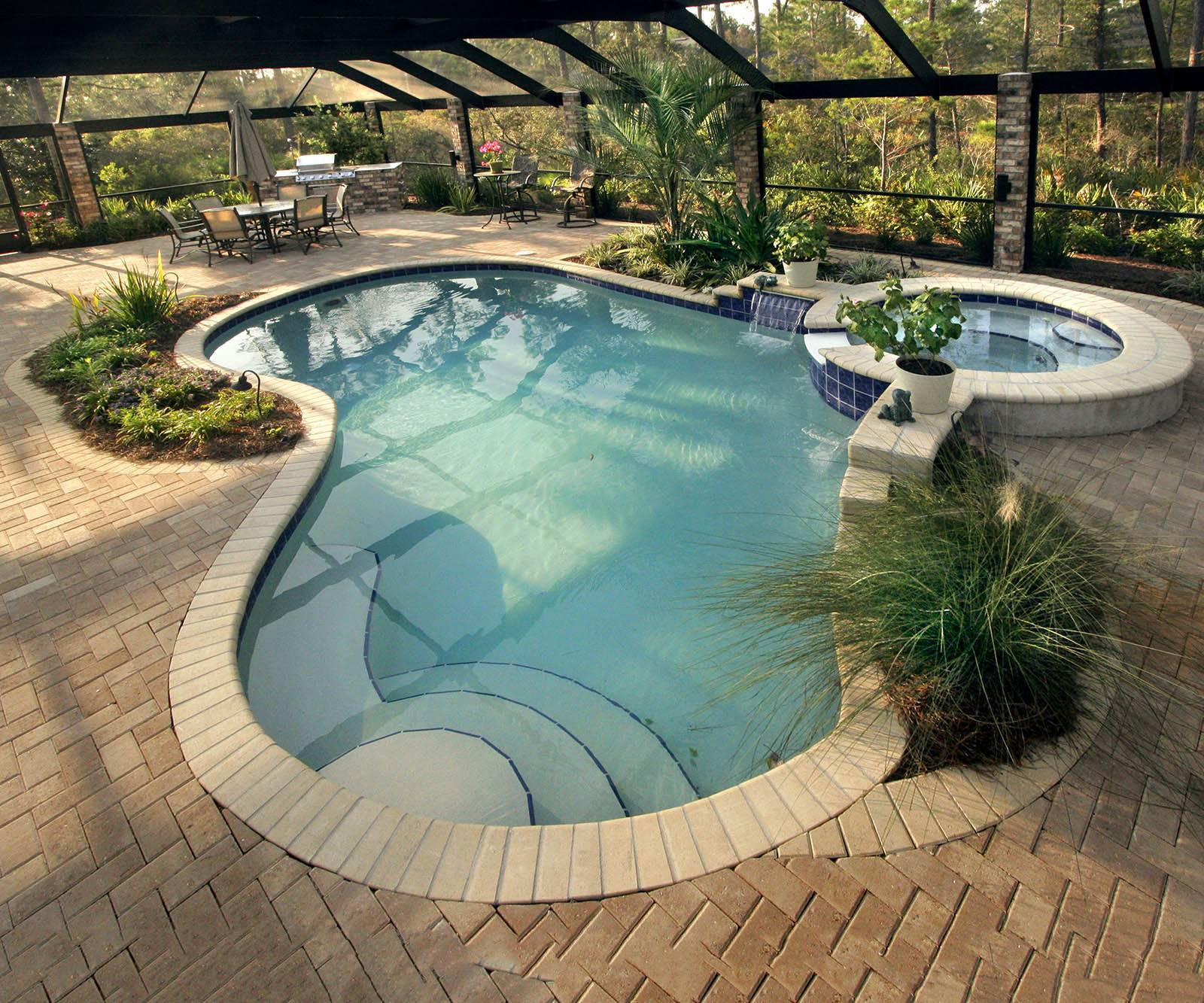 Inground Swimming Pool Deck Ideas