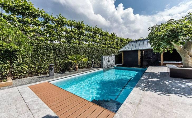 Inground Swimming Pool Ideas Landscaping Photos