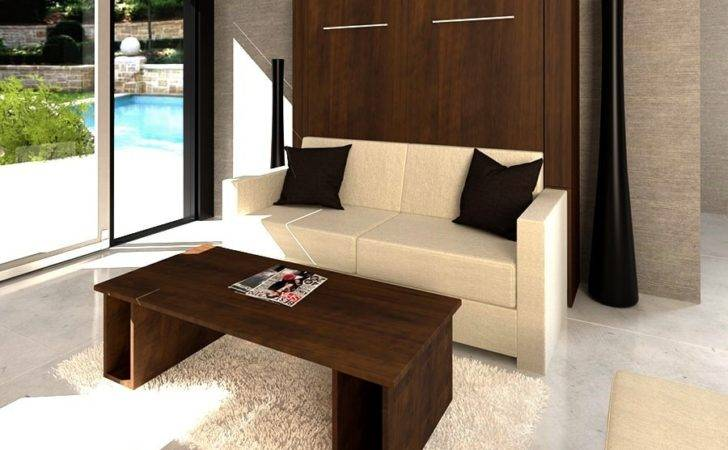 Inline Murphy Bed Sofa Closed