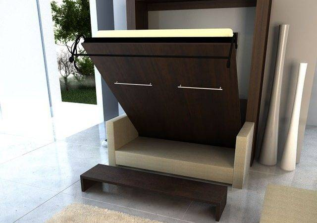 Inline Murphy Bed Sofa Contemporary Beds Boise