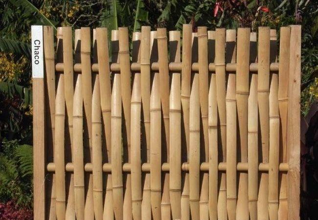 Innovative Bamboo Fence Design Oda Bambu Pinterest