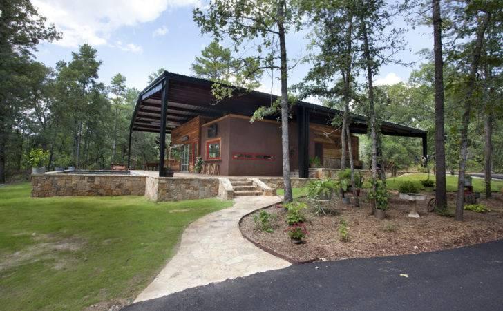 Innovative Metal Canopy Home Texas Wright Built