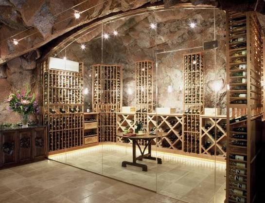 Innovative Wine Cellar Designs Offers Luxe Home Storage
