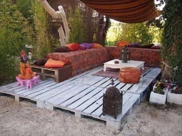Insanely Smart Creative Diy Outdoor Pallet Furniture Designs