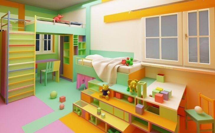 Inside Kids Room Colors Pertaining Household