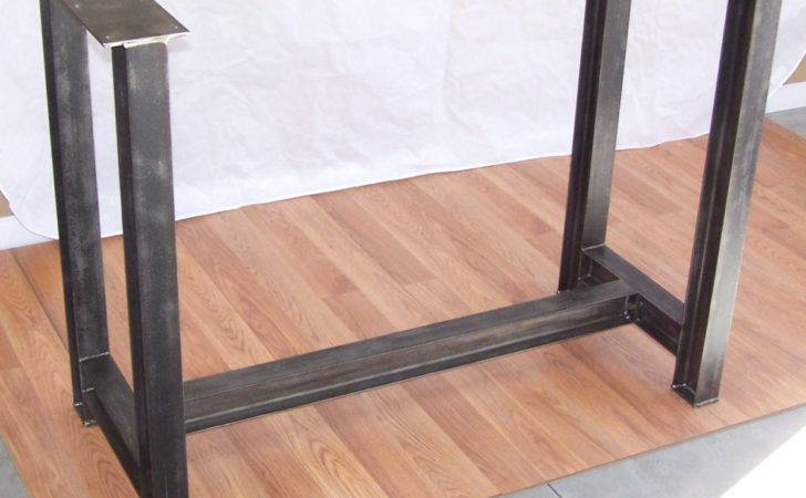 Inspirations Hairpin Table Legs Metal Bench