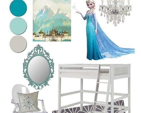 Inspired Frozen Room Girl Bedroom Makenna