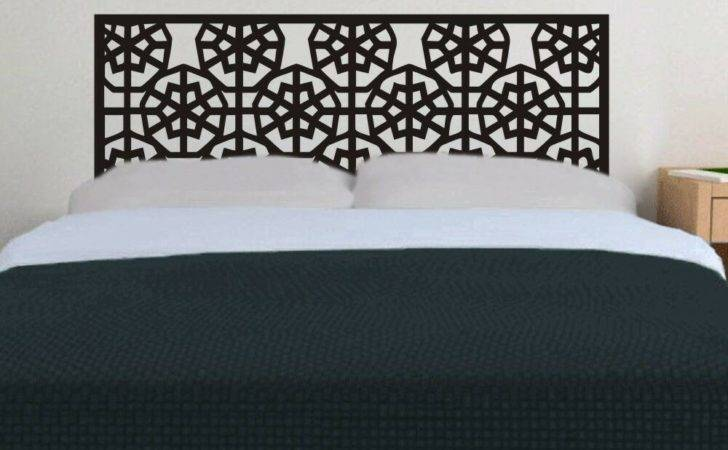 Inspired Headboard Wall Decal Bed Post Removable Vinyl Art