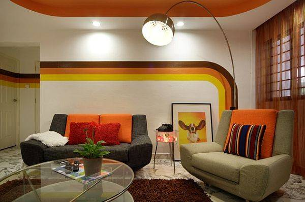 Inspired Retro Apartment Singapore